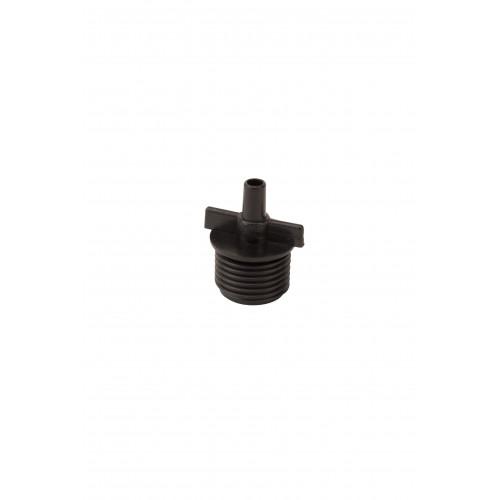 Адаптер  с наружной резьбой 1/2 дюйма для микроджет 5 мм
