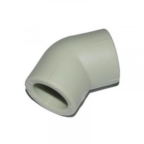 Колено угловое PP-R 45*